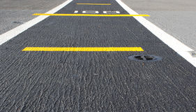 Road airstrip background Stock Photography