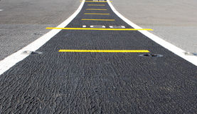Road airstrip background Stock Image