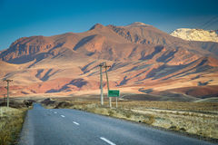 Road through the Alamut Stock Photos