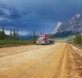 Road on Alaska Royalty Free Stock Photography