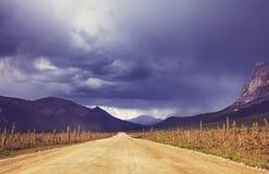 Road on Alaska Royalty Free Stock Photo
