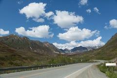 Road through Alaska Stock Photos