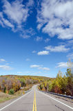 Road in Algonquin Park Stock Photography