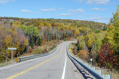 Road in Algonquin Park Royalty Free Stock Photography