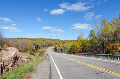 Road in Algonquin Park Stock Image