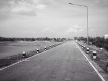 Road alone Stock Image