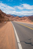 Road along Andean valleys Royalty Free Stock Photography