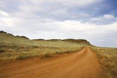 Road along mountain Stock Photography