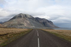 Road along the south east coast of Iceland. Stock Photos