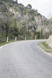 Road in Alpes Haute, Luberon Park outside Lourmarin Village, Pro Stock Photography