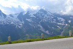 Road in Alps, Tirol Royalty Free Stock Photography