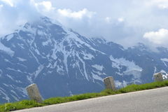Road in Alps, Tirol Stock Photography