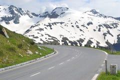 Road in Alps, Tirol Stock Photo