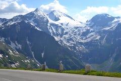 Road in Alps, Tirol Stock Photos