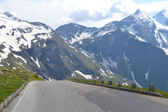 Road in Alps, Tirol Royalty Free Stock Images