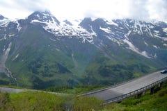 Road in Alps, Tirol Stock Image