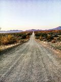 Road to Ameib game reserve royalty free stock photography