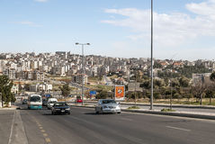Road from Amman Royalty Free Stock Image
