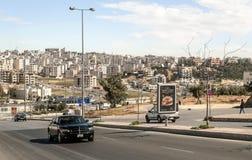 Road from Amman Stock Photos