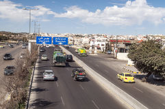 Road from Amman Stock Image