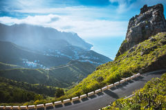 Anaga Mountains, Taganana, Tenerife Royalty Free Stock Photography