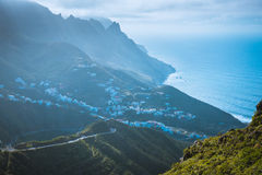 Anaga Mountains, Taganana, Tenerife Royalty Free Stock Image