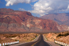 Road through Andes Stock Image