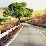 Road in the Apennines, Italy Royalty Free Stock Photography