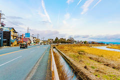 Road in Arashiyama Royalty Free Stock Photos