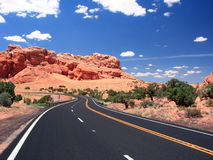 Road in Arizona Royalty Free Stock Photography