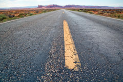 On the road in Arizona Royalty Free Stock Photography