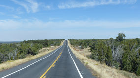 Road in Arizona Stock Images