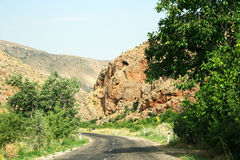 Road in Armenia Stock Photo