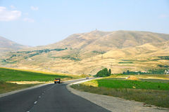 Road in Armenia Stock Images