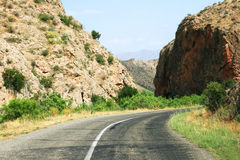 Road in Armenia Stock Photos