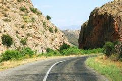Road in Armenia stock photos