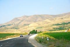 Road in Armenia stock images