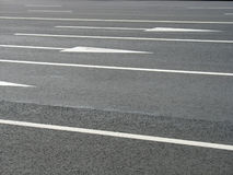 Road arrows Stock Photography