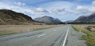 Road through Arthur's Pass Stock Photos