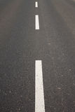 Road, asphalt, centre line Royalty Free Stock Photography