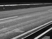 Road asphalt dark atmosphere black stock photo