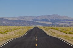 Road, asphalt, highway, lane, Royalty Free Stock Photography