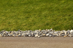 Road asphalt stone rubble Royalty Free Stock Image