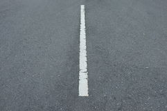 Road asphalt  texture with  lines white Stock Image