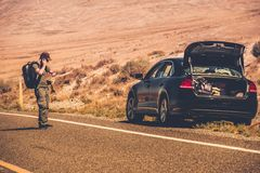 Road  Assistance Call Royalty Free Stock Photography