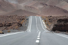 Road in Atacama desert, Chile Stock Image