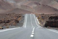 Road in Atacama desert, Chile Stock Image