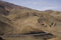 Road in Atlas mountains Stock Photos