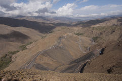 Road in the Atlas Mountains Royalty Free Stock Images