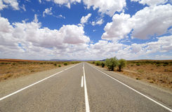 Road in Australia Royalty Free Stock Photo